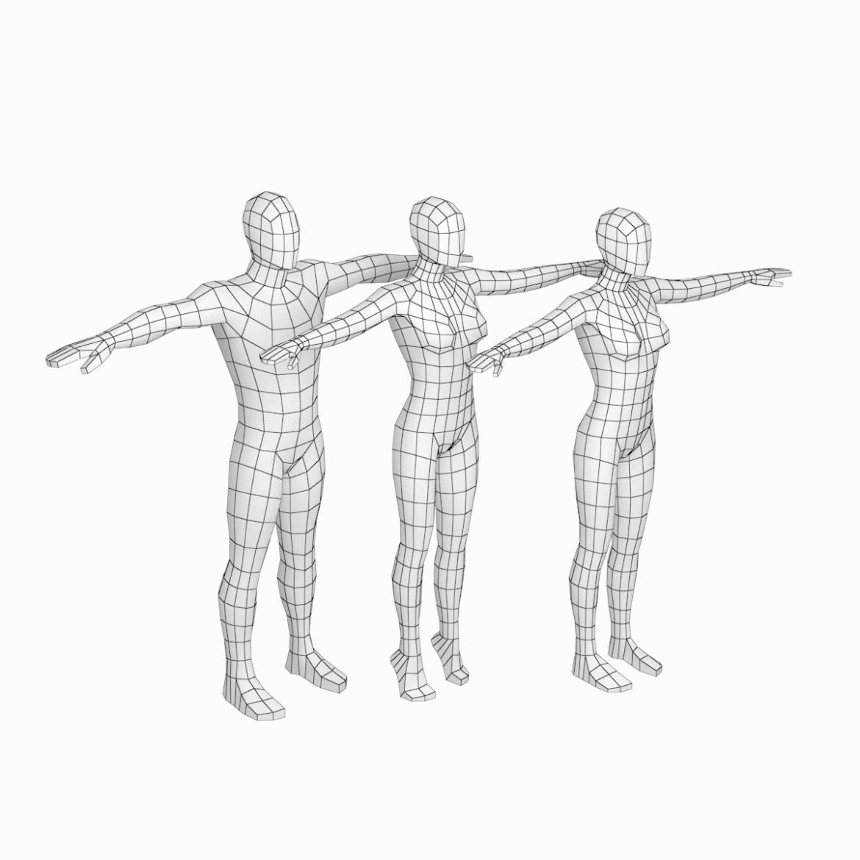 """Хүчтэй байгалийн харьцаатай хүний эмэгтэй, эрэгтэй биед бага поли суурьтай торон загвар. Онцлог шинжүүд: * Загварын зургийг бодит зурагнууд болон 3D сканерууд ашиглана. * Биеийн эзлэх хувь нь урлаг, дизайнаар батлагдсан байгалийн хүний хувь хэмжээг хэмжсэнтэй тэнцүү байна. * Энэ загвар нь бүх нийтэд чиглэсэн ... <a class = """"continue"""" href = """"https: // www.flatpyramid.com / 3d-models / characters-3d-models / characters-collection / эмэгтэй-эрэгтэй-base-mesh-in-t-pose / """"> Continue reading <span> T-Rose in Female and Male Base Mesh < / span> </a> <a class = """"continue"""" href = """"https: // www.flatpyramid.com / 3d-models / characters-3d-models / characters-collection / эмэгтэй-эрэгтэй-base-mesh-in-t-pose / """"> Continue reading <span> T-Rose in Female and Male Base Mesh < / span> </a>"""