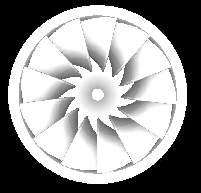 francis turbīna 3d modelis obj 304810
