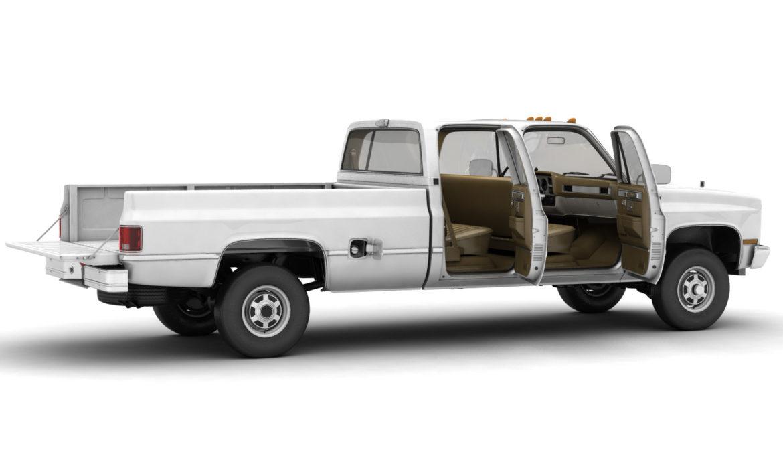 generic 4wd pickup truck 5 3d model max fbx obj 3ds jpeg 304890