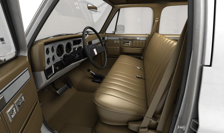 generic 4wd pickup truck 5 3d model max fbx obj 3ds jpeg 304894
