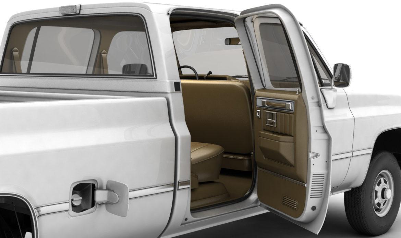 generic 4wd pickup truck 5 3d model max fbx obj 3ds jpeg 304899