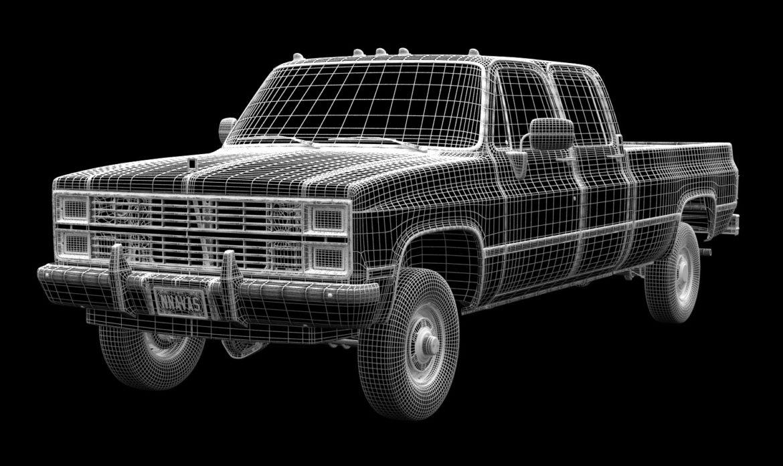 generic 4wd pickup truck 5 3d model max fbx obj 3ds jpeg 304902