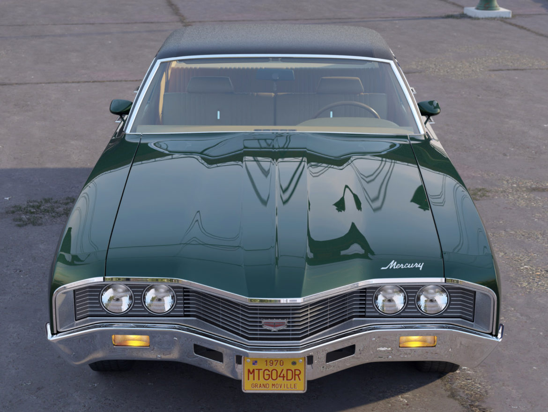 montego mx 4 Завсрын седан 1970 3d загвар 3ds c4d fbx max obj 305368