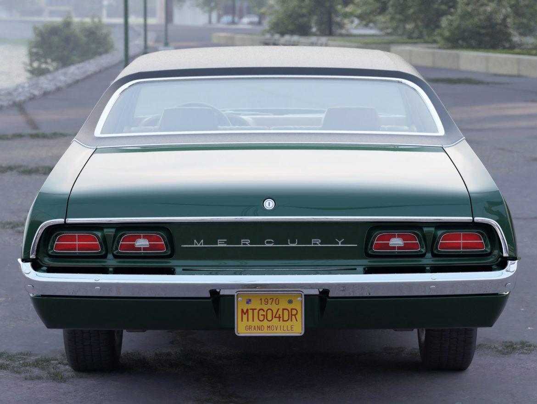 montego mx 4 Завсрын седан 1970 3d загвар 3ds c4d fbx max obj 305370