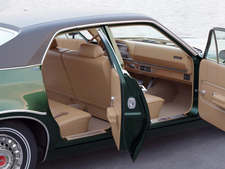 montego mx 4 Завсрын седан 1970 3d загвар 3ds c4d fbx max obj 305372