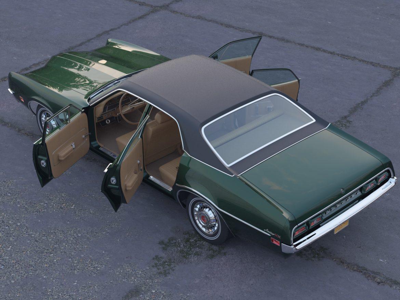 montego mx 4 Завсрын седан 1970 3d загвар 3ds c4d fbx max obj 305377