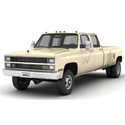 generic 4wd dually pickup truck 6 3d model 3ds max fbx blend obj 305481