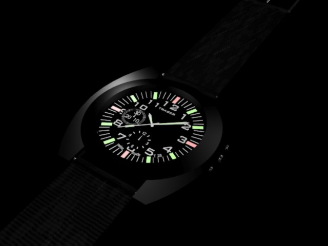 watches 3d model 3ds 305511