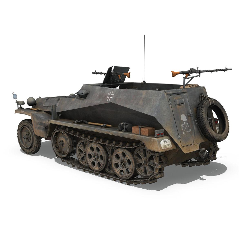 sdkfz 250 - spzb 41 - pzgrendiv 3d загвар 3ds c4d fbx lwo lws obj 306031