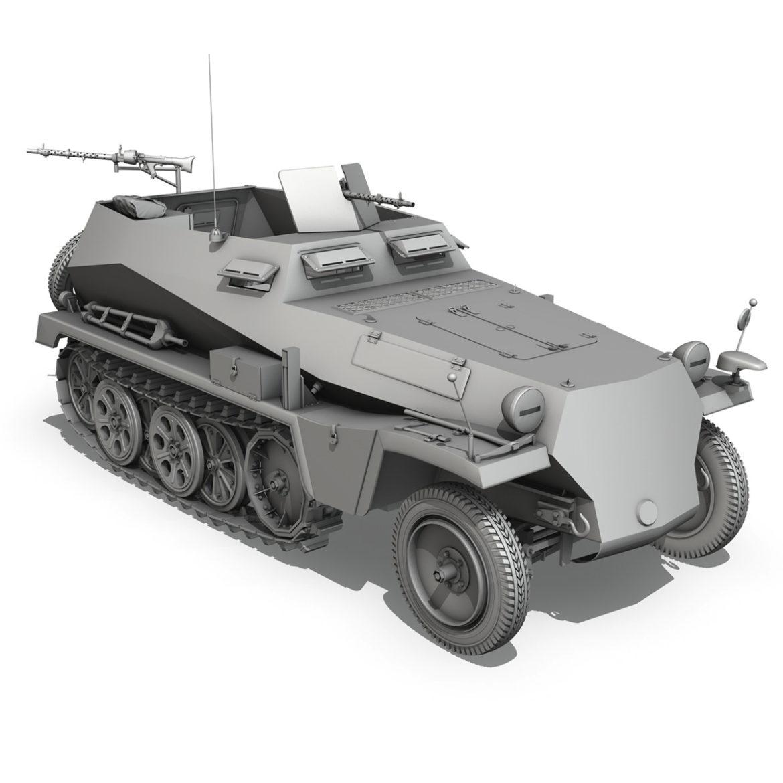 sdkfz 250 - spzb 41 - pzgrendiv 3d загвар 3ds c4d fbx lwo lws obj 306039