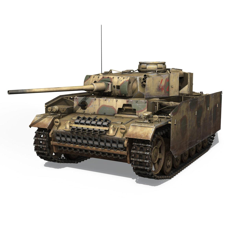 pzkpfw iii – panzer 3 – ausf.m – 421 3d model 3ds lwo lw lws obj c4d 306066