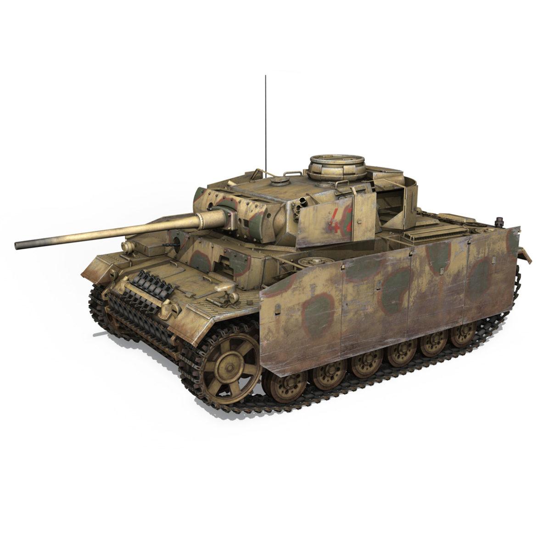 pzkpfw iii – panzer 3 – ausf.m – 421 3d model 3ds lwo lw lws obj c4d 306067