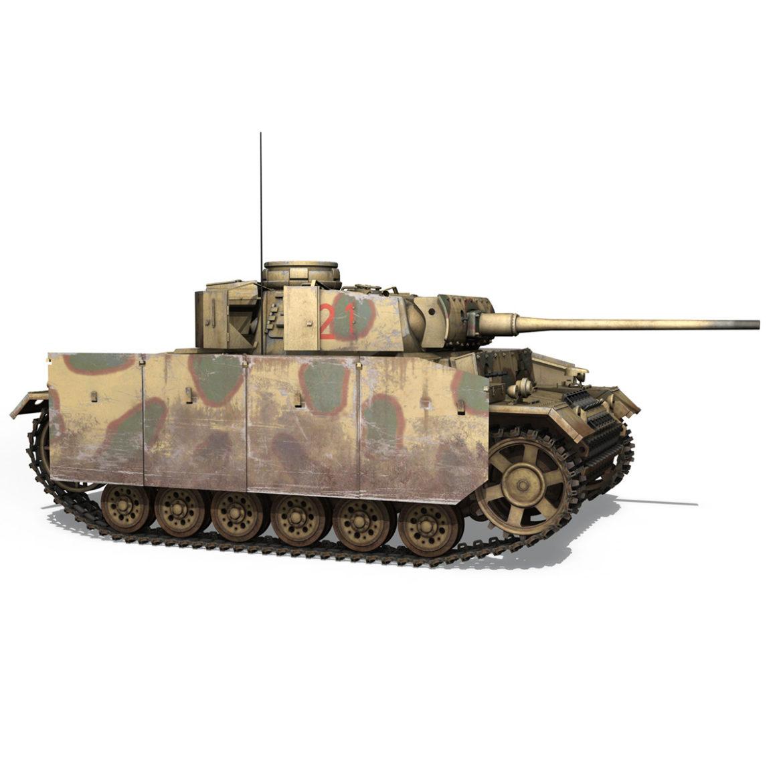 pzkpfw iii – panzer 3 – ausf.m – 421 3d model 3ds lwo lw lws obj c4d 306071