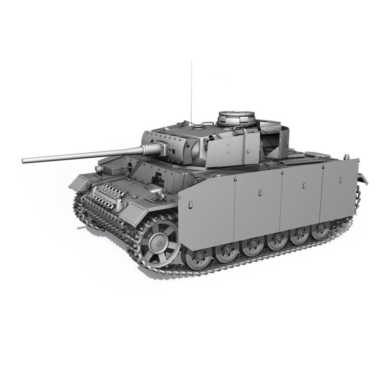 pzkpfw iii – panzer 3 – ausf.m – 421 3d model 3ds lwo lw lws obj c4d 306076