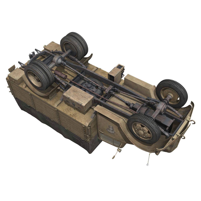 blitz opel - 21 panzer-section 3d model 3ds c4d fbx lwo lw lws obj 306094