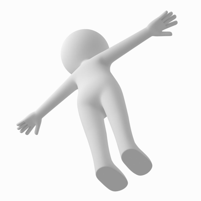 pieaugušais stilizēts stickman in t-pose 3d modelis txt png 3ds max c4d de dwf dxf fbx ma mb obj stl 306221