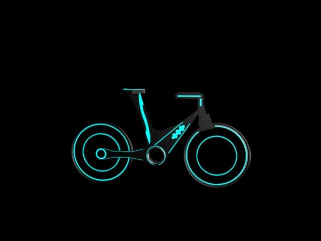 neon bike 3d model max 306346