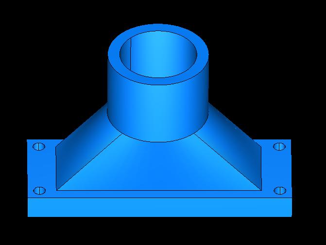 cross-flow turbine vertical full station 3d model obj 306502