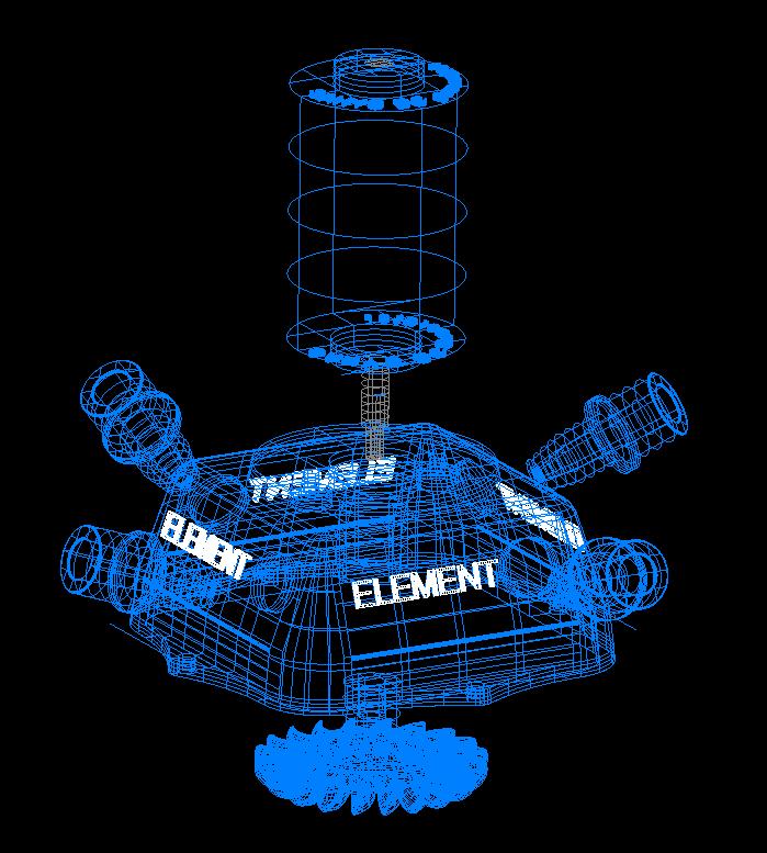 turbo turbinə tam stansiya 3d model 3ds 306554