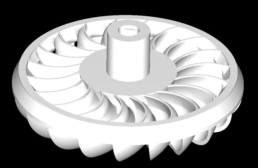 turbo maqnit bağladı 3d model obj 306584