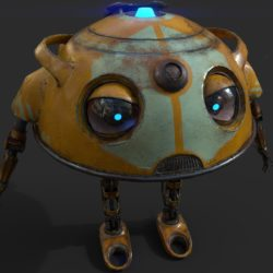 robot ma780v2 3d model 3ds max fbx obj 306954