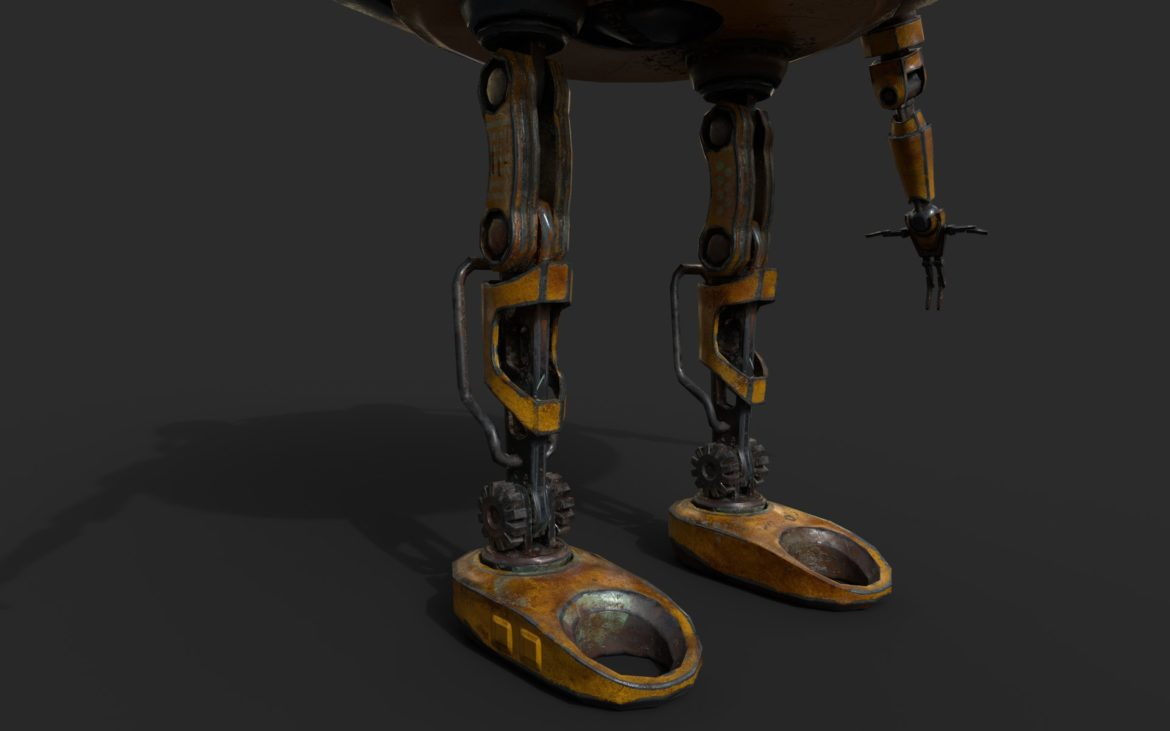 robot ma780v2 3d model 3ds max fbx  obj 306958