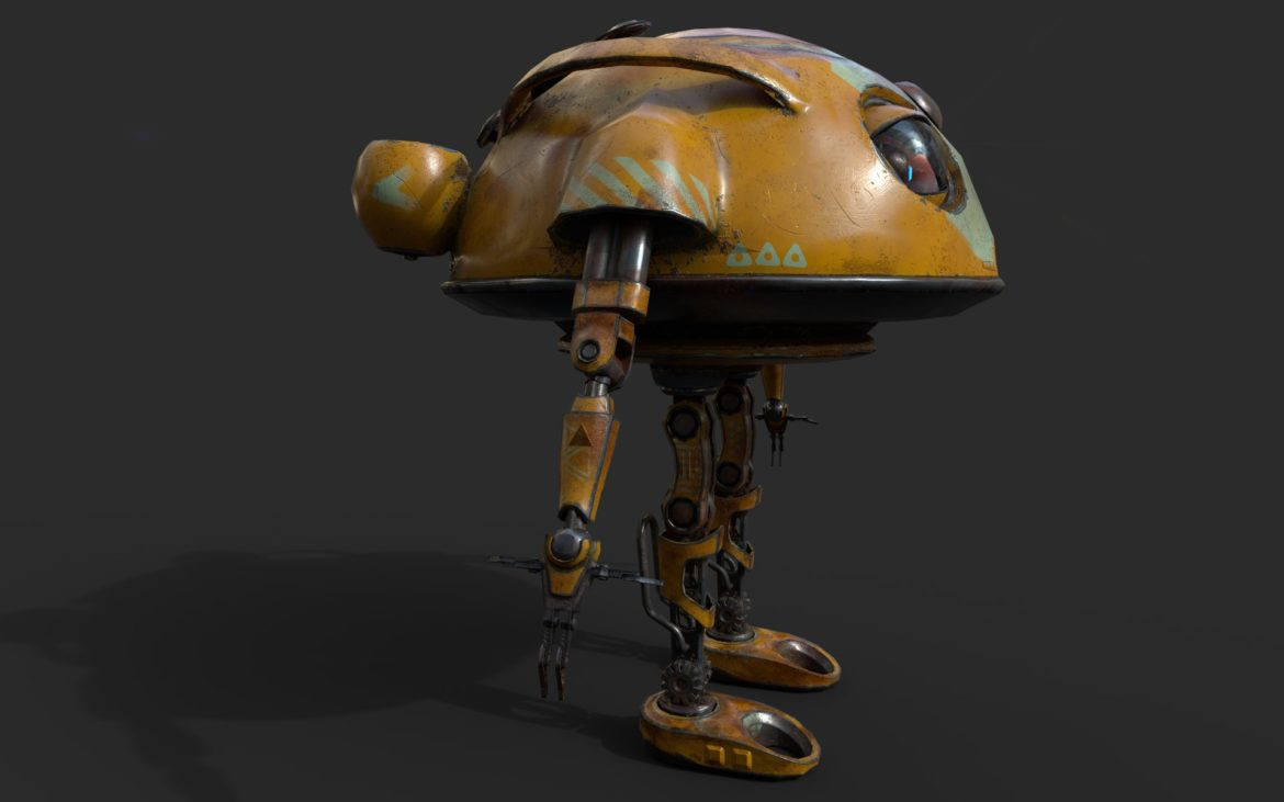 robot ma780v2 3d model 3ds max fbx  obj 306959