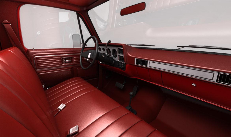 generic 4wd pickup truck 7 3d model 3ds max fbx obj 307083