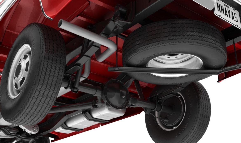 generic 4wd pickup truck 7 3d model 3ds max fbx obj 307085