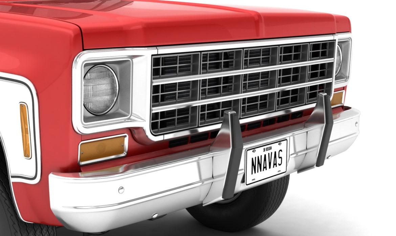 generic 4wd pickup truck 7 3d model 3ds max fbx obj 307087