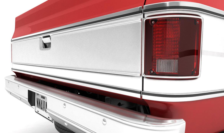generic 4wd pickup truck 7 3d model 3ds max fbx obj 307088