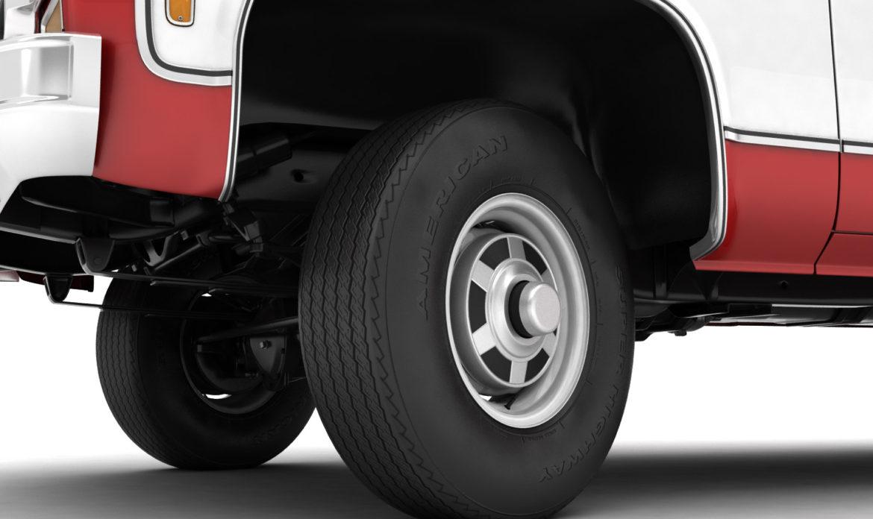 generic 4wd pickup truck 7 3d model 3ds max fbx obj 307089