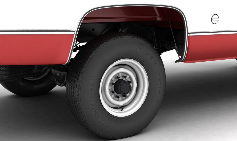 generic 4wd pickup truck 7 3d model 3ds max fbx obj 307090