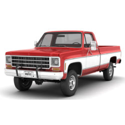 generik 4wd pilihan truk 7 3d model 3ds max fbx obj 307098