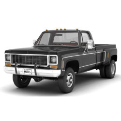 generic 4wd dually pickup truck 8 3d model 3ds max fbx obj 307106