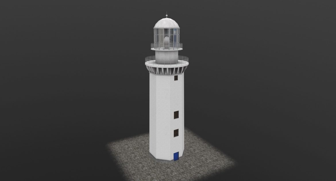 light house doobskiy 3d model 3ds max fbx obj 307156