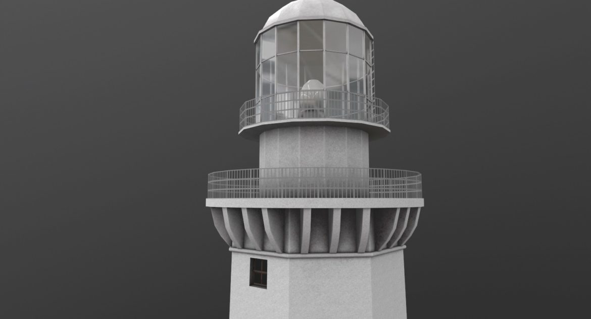 light house doobskiy 3d model 3ds max fbx obj 307158