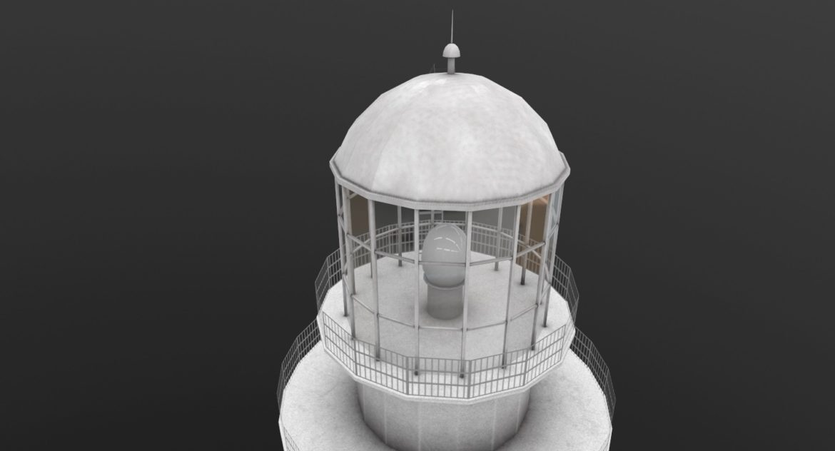 light house doobskiy 3d model 3ds max fbx obj 307159