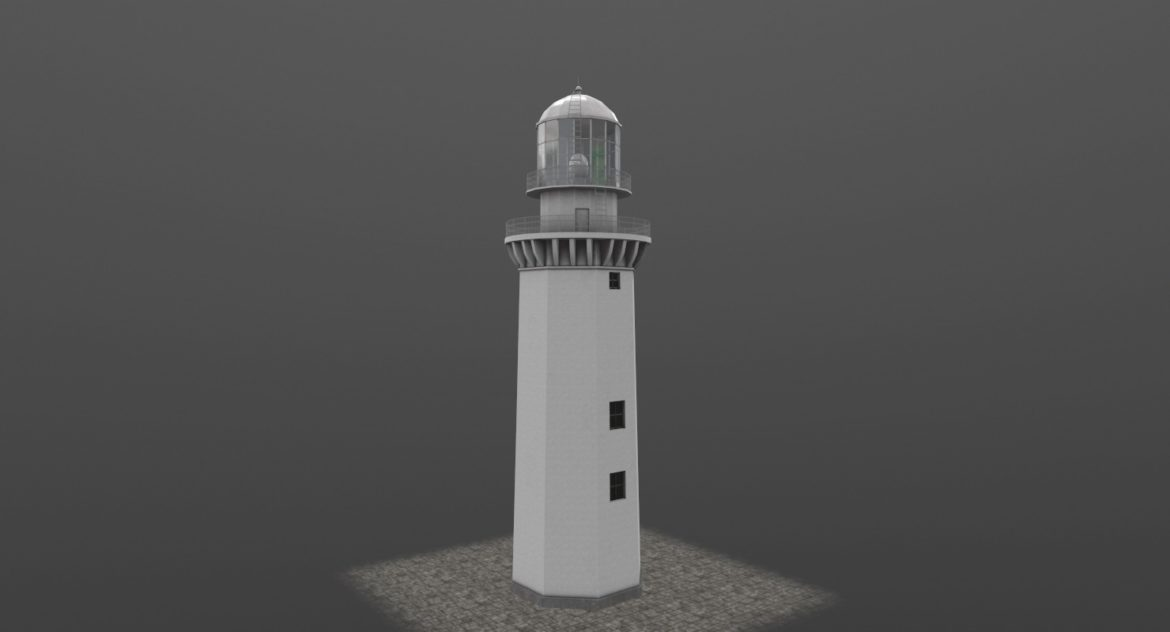 light house doobskiy 3d model 3ds max fbx obj 307162