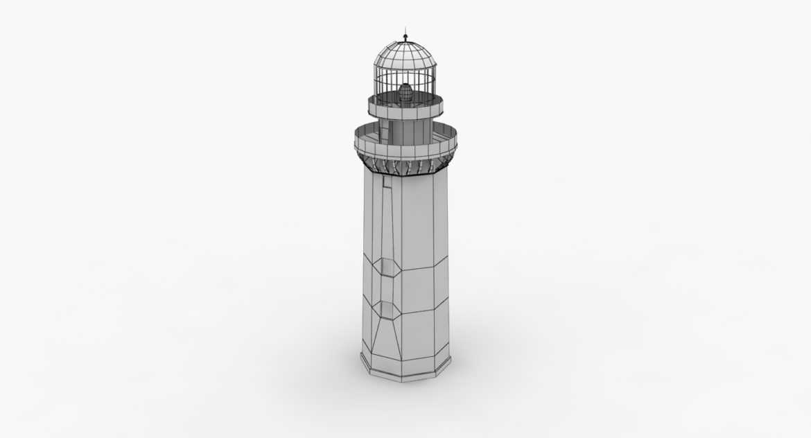 light house doobskiy 3d model 3ds max fbx obj 307163