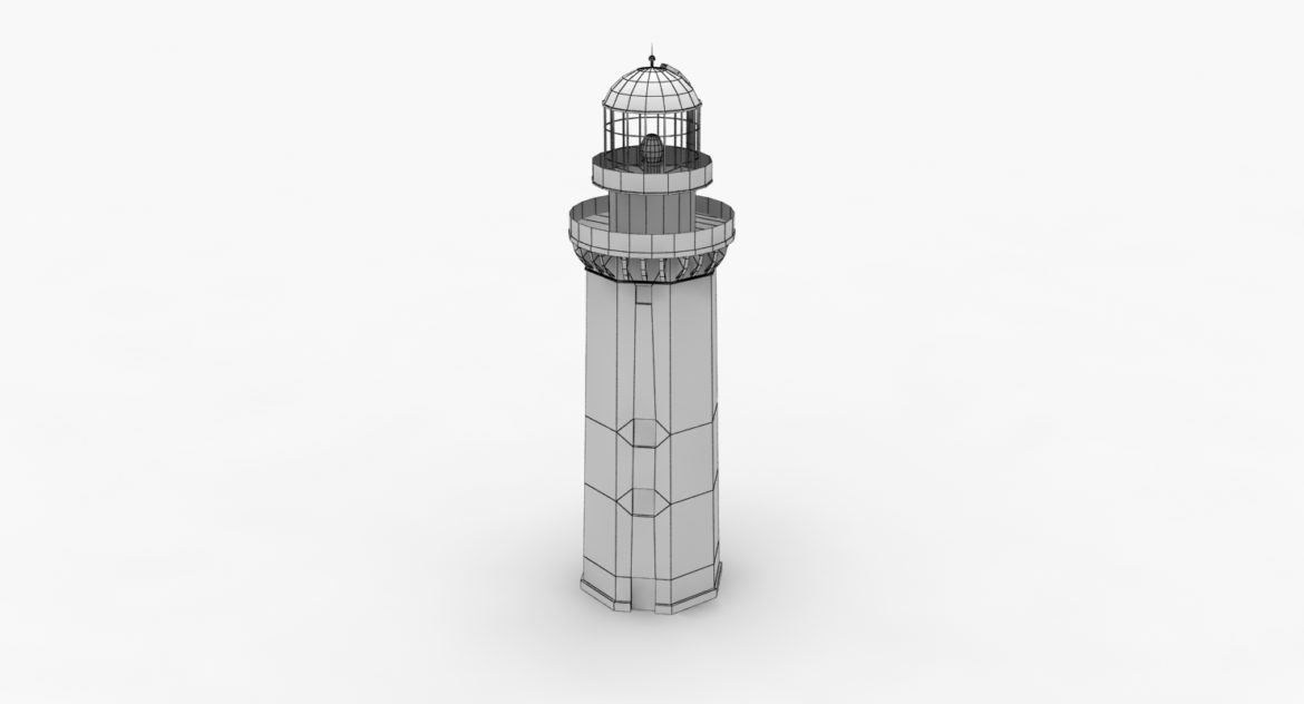 light house doobskiy 3d model 3ds max fbx obj 307164