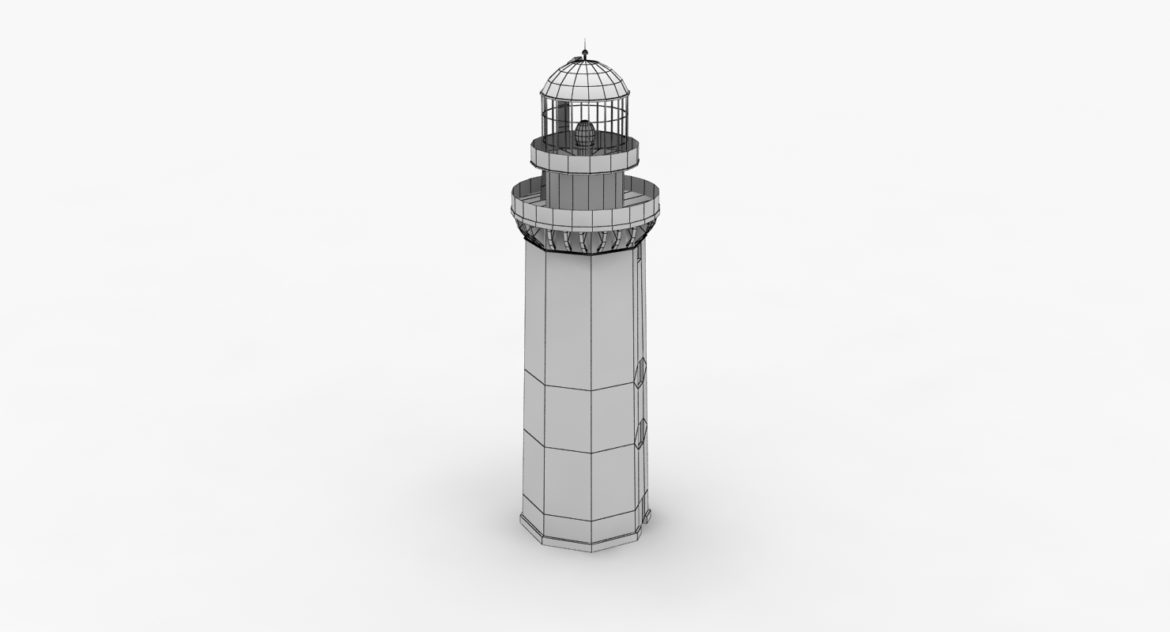 light house doobskiy 3d model 3ds max fbx obj 307165