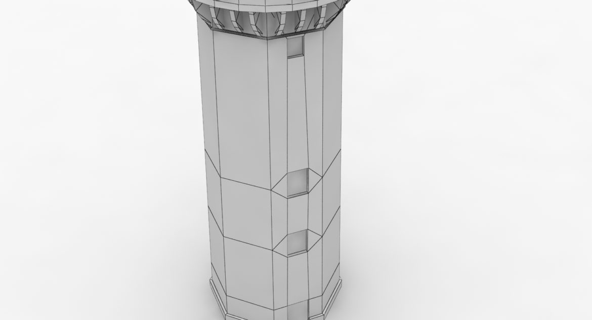 light house doobskiy 3d model 3ds max fbx obj 307169