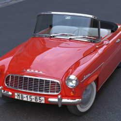 Škoda felicia roadster 1960 3d модел 3ds максимум c4d dae fbx obj 307181