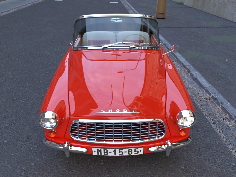 Škoda felicia roadster 1960 3d model 3ds max fbx c4d dae obj 307183