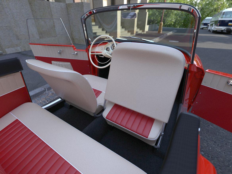 Škoda felicia roadster 1960 3d model 3ds max c4d dae fbx obj 307192