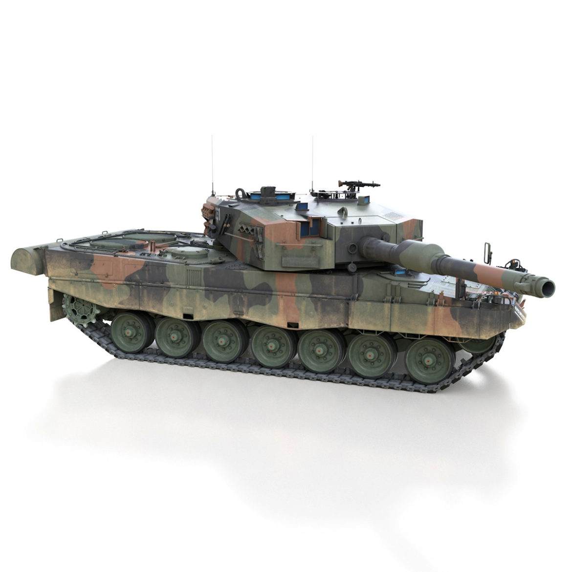panzer 87 – swiss army 3d model 3ds c4d lwo texture obj 307512