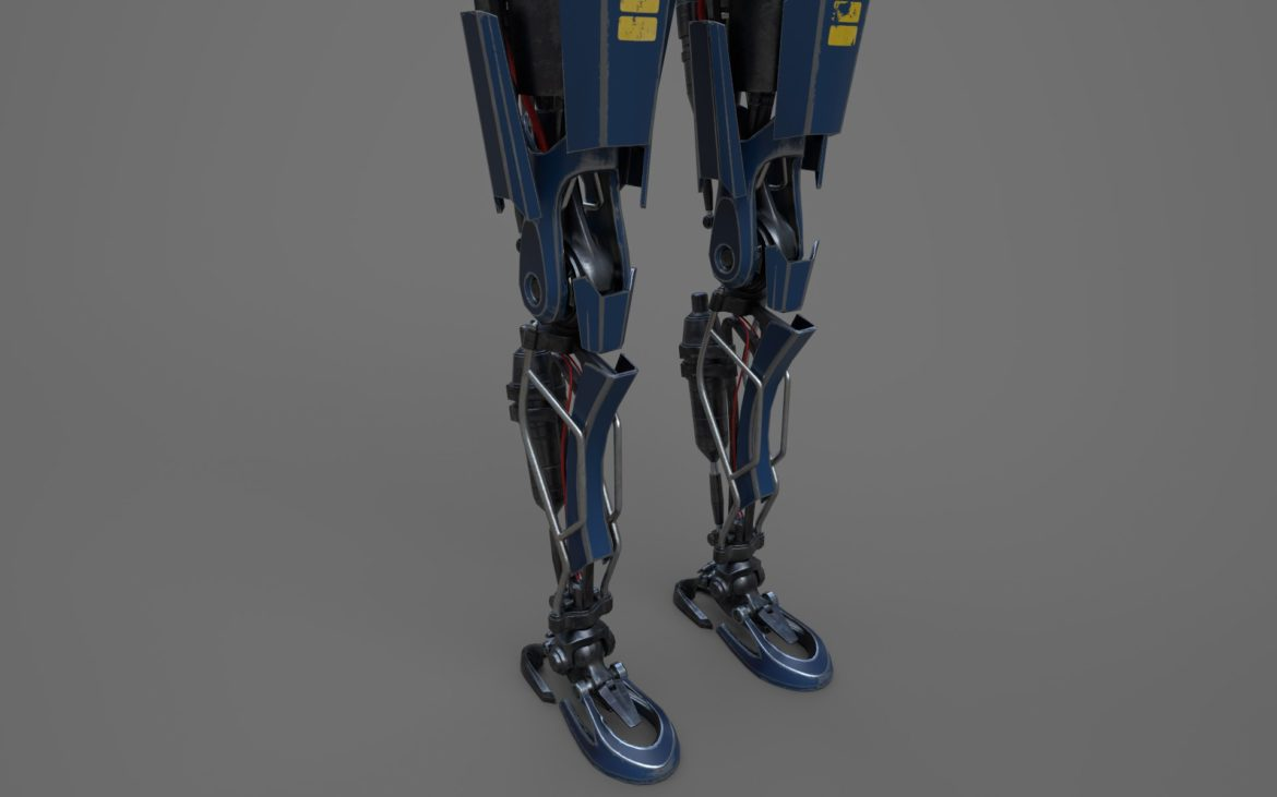 robot ledi001 3d model 3ds max fbx obj 307770
