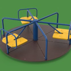 playground carousel 3d model 3ds max fbx dae  obj 308034