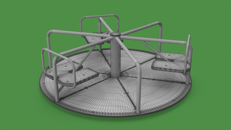 playground carousel 3d model 3ds max fbx dae  obj 308040
